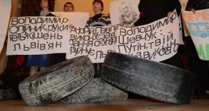 «ПРАВИЙ СЕКТОР» окупував Львівську міськраду.