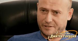 "Дмитро Ярош ""В гостях у Дмитра Гордона"""
