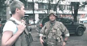 «Українська армія стає все боєздатнішою і в нас є шанс приборкати сепаратистів та терористів» – лідер Правого сектора Дмитро Ярош з боївки ПС на Донеччині