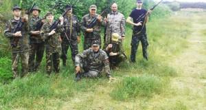 Правосекторівці та бійці УНА-УНСО тренуються на Яворівському полігоні