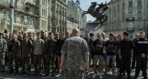 «Правий сектор» пікетував міліцію Львівщини через безчинства її колег в Одесі