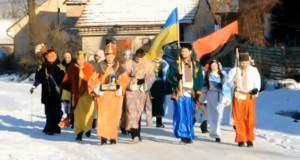 Святковий вертеп у Вовчухах збирав кошти для бійців ДУК