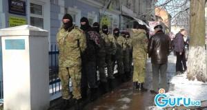 «Правий сектор» Стрийщини прийшов на засідання суду щодо захоронення хімічних відходів