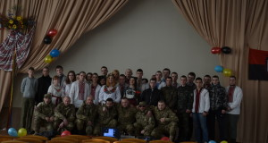 Минулої неділі «Права молодь» вшановувала пам'ять Кобзаря