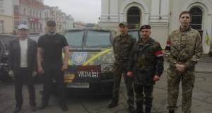 З Дрогобича в 5 батальйон ДУК відправився броньований мікроавтобус