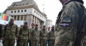 Провокації не відбулося. «Правий сектор» заблокував  у Львові першотравневий «Соціальний марш»