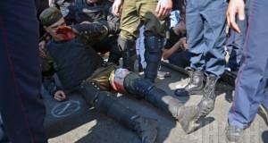 Олена Білозерська засудила використання бойових гранат на масових акціях