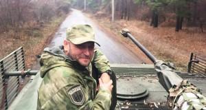 Ярош інспектує бойову техніку ДУК ПС