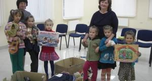 «Правий сектор» Радехівщини відвідав благодійний  центр« Кленовий лист»