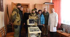 «Правий сектор» передав апарат УЗД  Лопатинській районній поліклініці