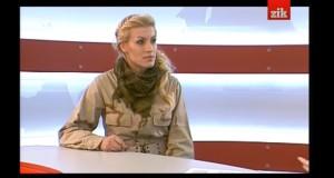 """Керівник організації """"Правий сектор – Захід"""" Олена Живко в програмі """"Огляд дня"""" (ЗІК)"""