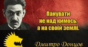 «Правий сектор» збирає кошти на відновлення меморіальної дошки Дмитру Донцову