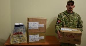 Дякуємо українцям з Італії за допомогу для бійців ДУК «Правого сектора»