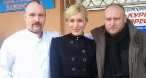 Дмитро Ярош та Олена Живко передали медліжка лікарні ім. Мечнікова
