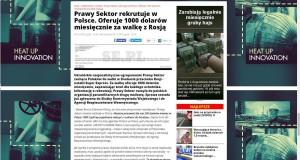 Проросійські видання Польщі зводять наклеп на «Правий сектор»