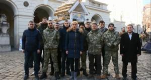 Штаб Яроша – Захід вітає українців з Новим Роком та Різдвом Христовим!
