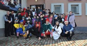 «Правий сектор» Городка організував свято Миколая для дітей Великолюбінської школи-інтернату