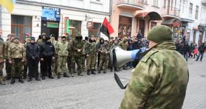 У Тернополі патріоти пікетували обласну міліцію