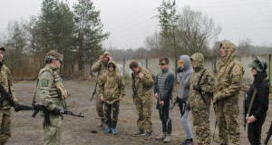 Громадський сектор «ДІЯ» Львівщини провів вишкіл з тактичної підготовки