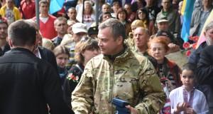 Героїв-добровольців вшанували відзнаками Холодного Яру