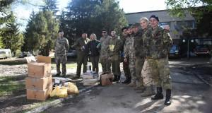 ДІЯ Львівщини разом з волонтерами передала гуманітарну допомогу на 5 оБАТ УДА