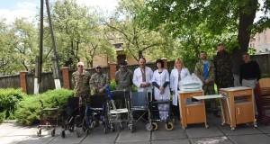 ДІЯ відкрила осередок у Жовкві та передала медобладнання місцевій лікарні
