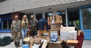 Чергова допомога добровольцям приїхала зі Львова