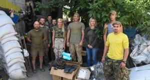 ДІЯ Львівщини побувала в Авдіївці з волонтерською місією