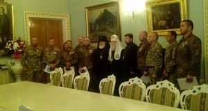 Філарет нагородив вісьмох добровольців з Львівщини орденами св. Георгія Побідоносця