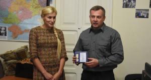 Олену Живко нагородили орденом «Сильному духом»