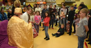 «ДІЯ» Львівщини організувала свято Миколая для дітей воїнів АТО