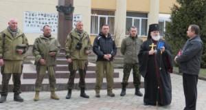 Сьогодні бійці УДА  з Дрогобиччини знову вирушили на Схід