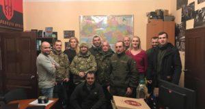 Тернопільський осередок «Об'єднання добровольців» очолив боєць та волонтер Дмитро Гайдуцький