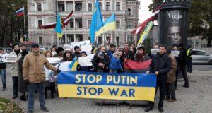 У Києві   на Майдані Незалежності пройде міжнародна акція STOP PUTIN STOP WAR