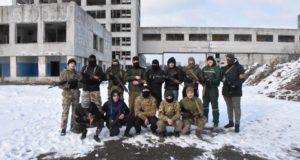 «Цивільна оборона»: запобігти і ліквідувати. Підрозділ «Об'єднання добровольців» провів навчання максимально наближені до реалістичних умов