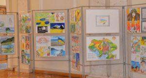 Окупований півострів очима дітлахів. У Верховній Раді відкриють виставку малюнків «Мій Крим»