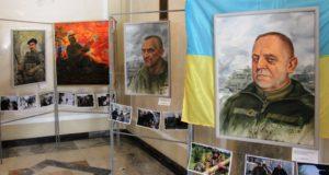 Портрети добровольців на війні: у Раді відкрилася виставка Сергія Пущенка