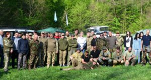 Легендарними місцями України Бійці «Об'єднання Добровольців» вшанували героїв Холодного Яру