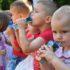 Подарунки для сиріт: волонтери «Об'єднання добровольців» влаштували свято для вихованців Львівського будинку дитини №2