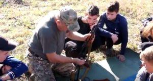 «Об'єднання добровольців»: військовий вишкіл у Дубно