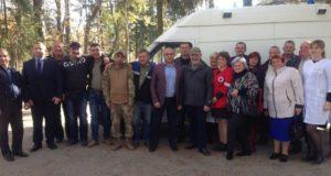 Рівненський осередок «Об'єднання добровольців» передав в одне із сіл Тернопільщини автомобіль швидкої медичної допомоги