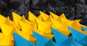 Акція на підтримку українських моряків та військовополонених
