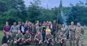 Вишкіл для молоді від ветеранів АТО