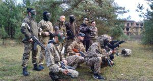Вишкіл молодіжного осередку «Об'єднання добровольців» – підрозділу «Цивільна оборона»