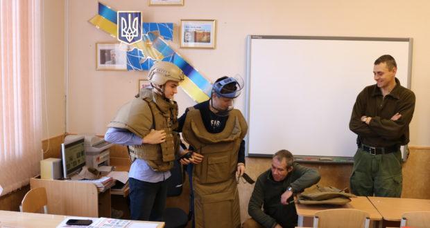 Вибухова загроза: лекції для школярів Українського гуманітарного ліцею