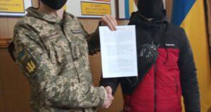 """Сумський обласний ТЦК та СП та ГО """"Об'єднання Добровольців"""" підписали меморандум про співпрацю."""