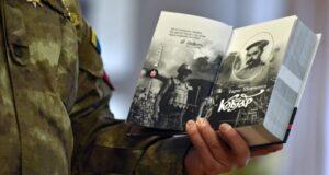 У Києві презентували фронтовий Кобзар.