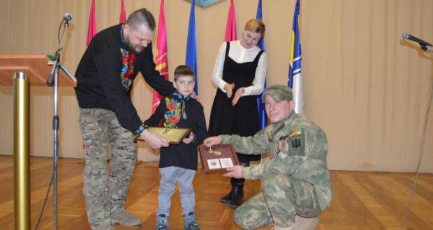 Як вітали добровольців у Будинку офіцерів Збройних Сил України