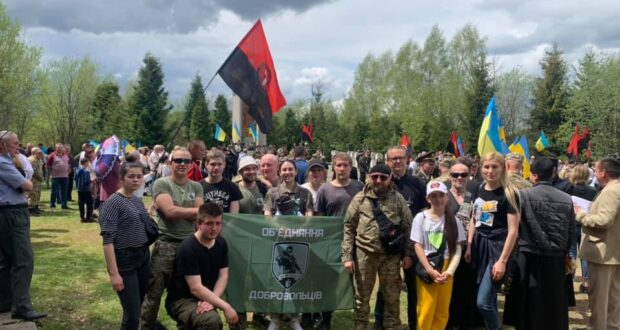 На Маківці вшанували воїнів січового стрілецтва полеглих у боротьбі за волю України.