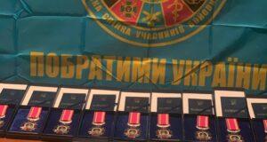 Відзнаки за оборону Луганського аеропорту вручили Львівським десантникам.
